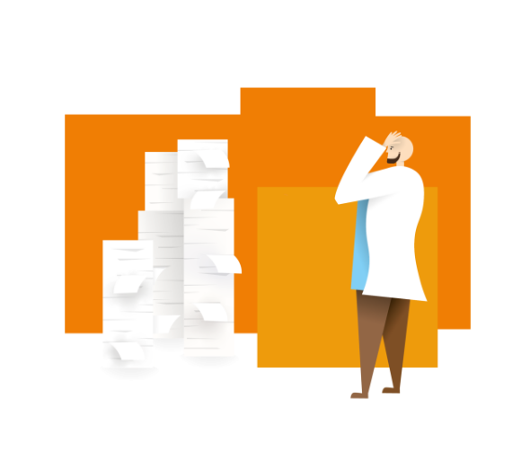 Grafika sterta dokumentów