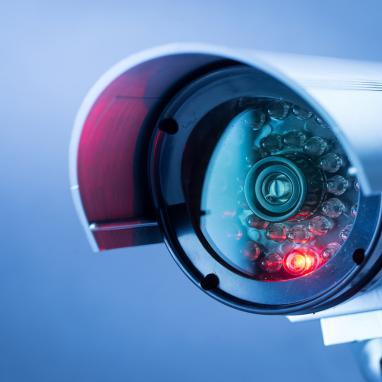 ochrona danych w placówce medycznej - kamera