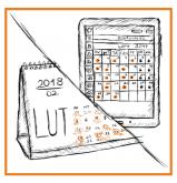 kalendarz wizyt pacjentów i rejestracja pacjentów