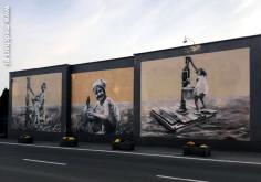 murale Arkadiusza Andrejkowa - Program dla rzeszowskich lekarzy